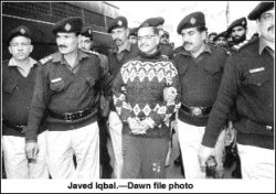 "Javed Iqbal: The Boy Hunter Hailing from Punjab, Pakistan, Javed Iqbal could well be one of the most detested men in history.Iqbal went to great lengths to surround himself with young boys. He opened video arcades, schools, aquariums, and gyms. He also married the older sister of one boy to keep him close by, and he married off his own sister to another boy to keep him close by. Iqbal was arrested a number of times on charges of sodomy, but his father's money always got him off.  In his eventual confession, The Boy Hunter claimed to have killed 100 boys in only five months, preferring to drug, rape, strangle, then chop them into pieces. Iqbal would then either store the bodies in a vat of acid near his house or dump them into the sewer.  When the judge sentenced Iqbal to death in 2000, it was suggested that he be strangled in front of the victims' families, his body chopped to bits and finally, stored in a vat of acid just as he'd done to his victims. Officially, he committed suicide while in prison, but an autopsy suggested he may have been murdered. It was irrelevant to his family who refused to collect his remains, claiming that he had died to them the day he confessed.  Seriously psychotic: The Boy Hunter was said to have declared in his confession, ""I am not ashamed of my actions… I have no regrets. I killed 100 children… It cost me 120 rupees ($2 USD) to erase each victim."""