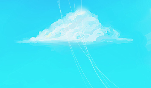 Eh, did a cloud tutorial by Kuryuki on DA