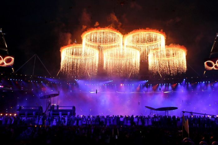 Let the Games begin! Source: Reuters