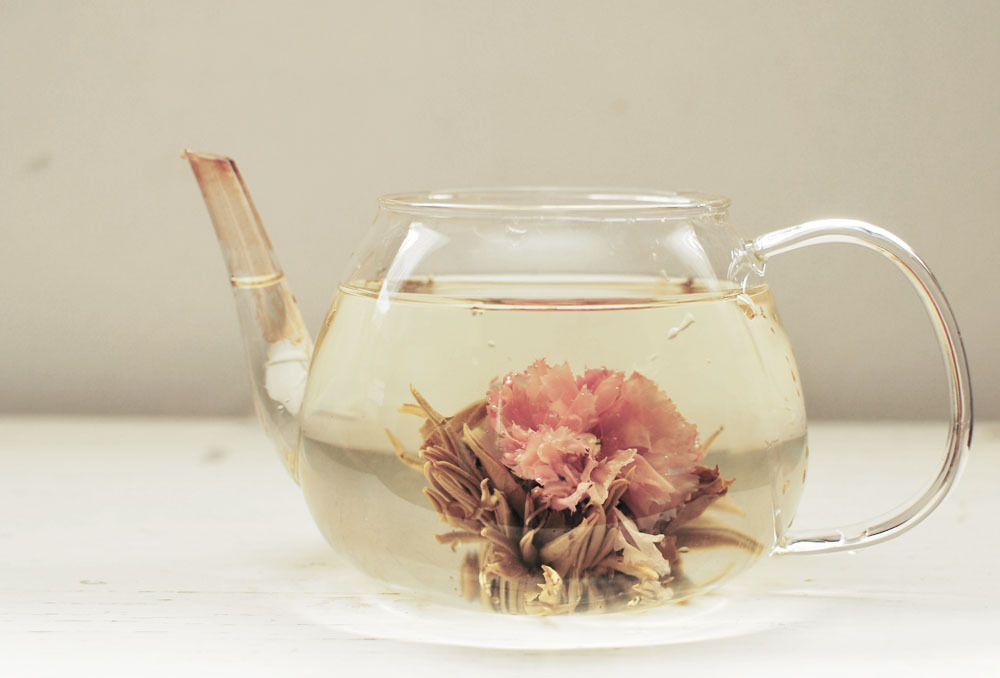 Strawberry Misaki Blooming Tea at Teavana