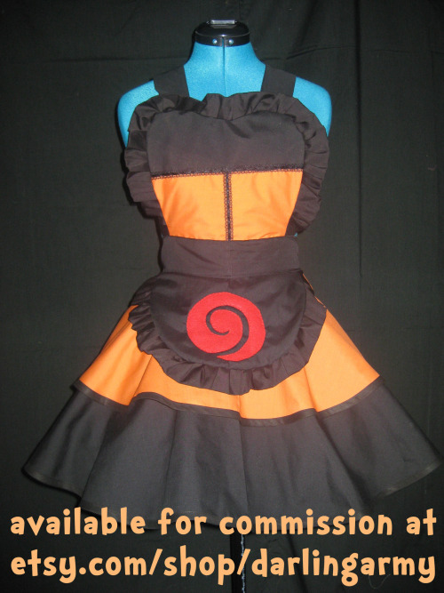 Naruto Shippuden Cosplay Pinafore Halloween commissions are open at: Darling Army