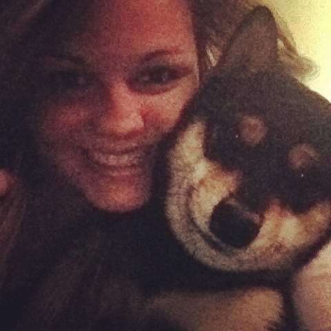 My puppy and I :)