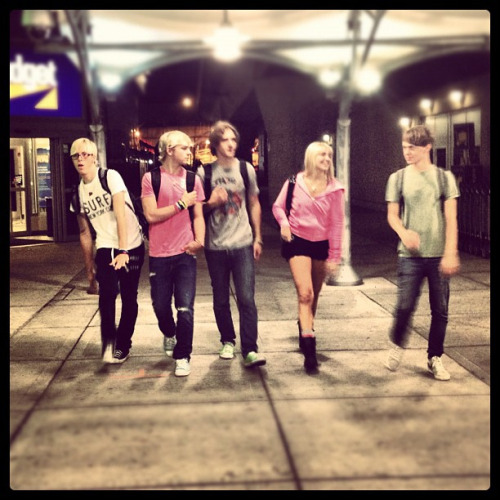 """Backpack buddies… @ NYC"""