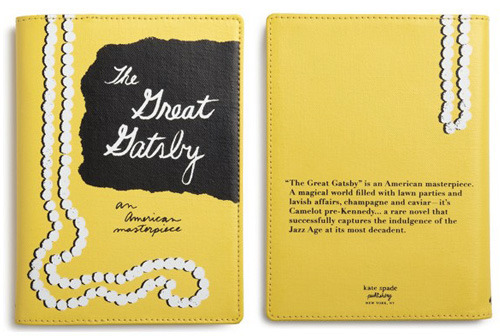 oh-la-dee-dah:  Kate Spade Kindle covers. Now, if only I had a Kindle.