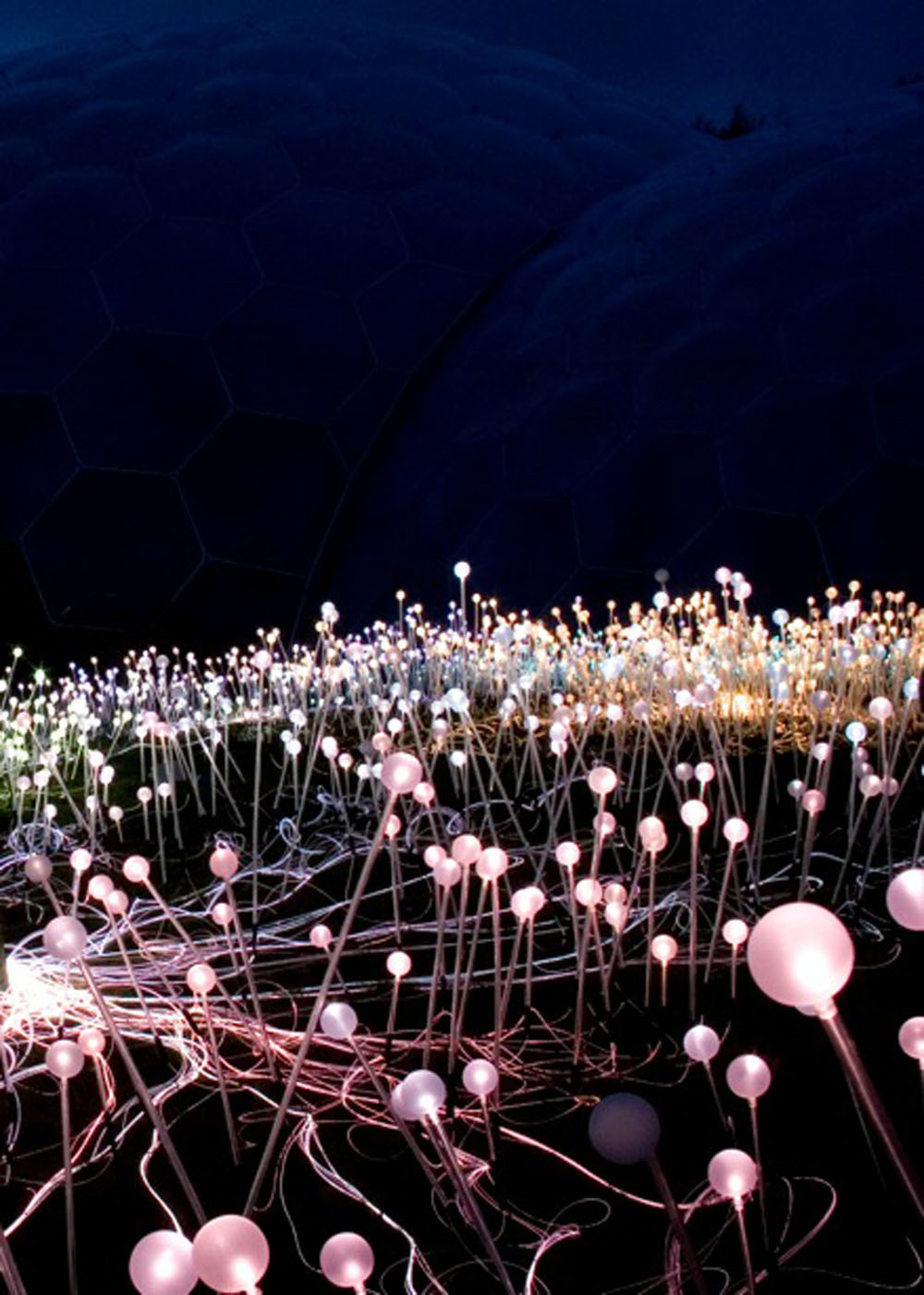 Bruce Munro - Field of Light, 2003  Hello enchanted.