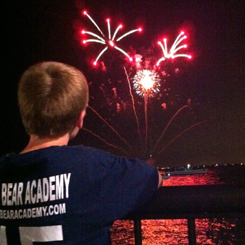 Went touristy and hit Navy Pier fireworks with the boys. I am the fun parent @jennin72 (Taken with Instagram)