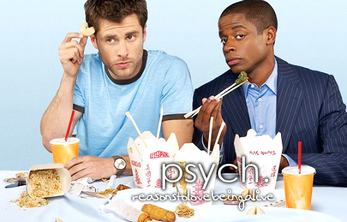 Off to watch Psych. I think I'm addicted. No… I'm sure I am.
