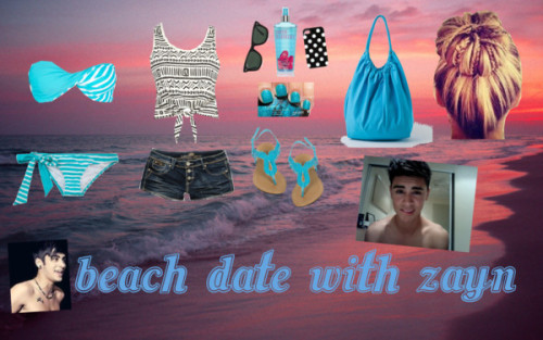 beach date with Zayn by iluvparis16 featuring roxy swimwearRiver Island crop tank top, $11 / Roxy  swimwear / Roxy  swimwear / Almost Famous cut off shorts / Wet Seal strappy sandals / American Apparel shoulder bag / Ray-Ban wayfarer sunglasses / Kate Spade tech accessory / Victoria's Secret victoria secret perfume