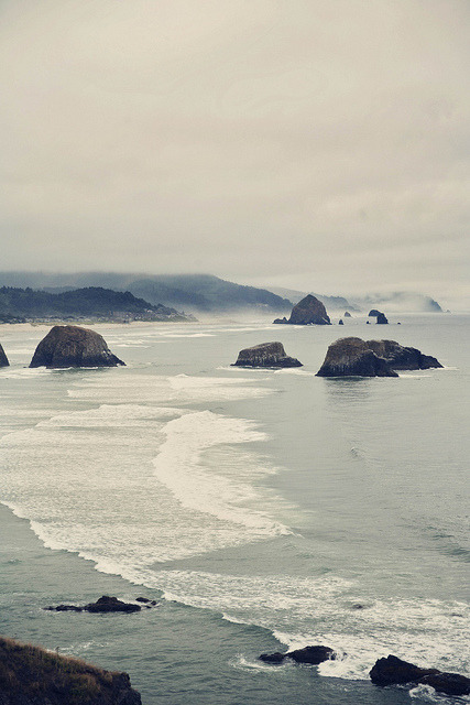 Cannon Beach by Meg Brooke on Flickr.