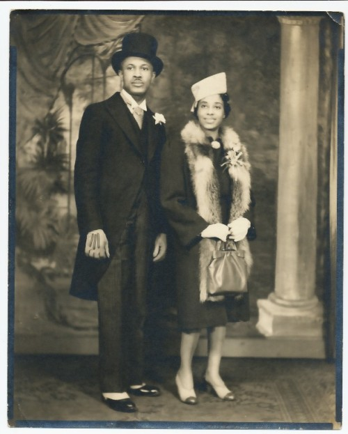 love2sepia:  A very dapper gentleman and his lady. Adler and Adler Studio Collection, Detroit MI.