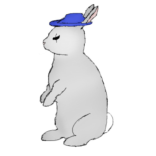 A concept for evil rabbit for the first island.