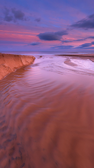 Balmedie Beach Sunset by ScottAMurray on Flickr.