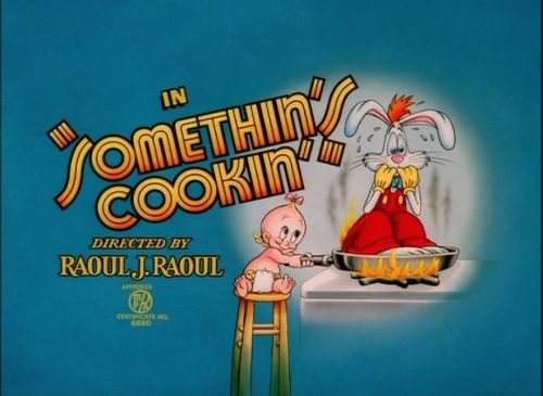 dfilms:  Who Framed Roger Rabbit, 1988 Title card for the cartoon at the beginning of the film.