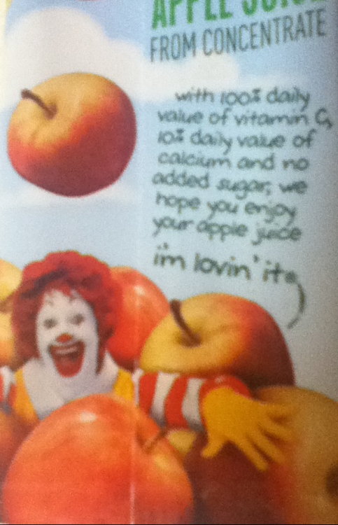 Let's just take a moment to acknowledge how terrifyingly creepy Ronald McDonald is right now.