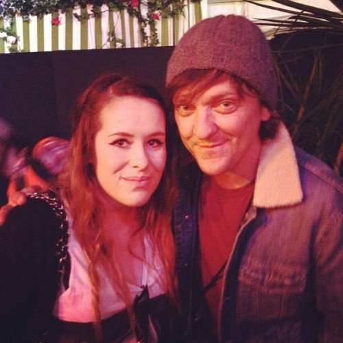 With a lucky fan at Splendour festival. (Taken with Instagram)