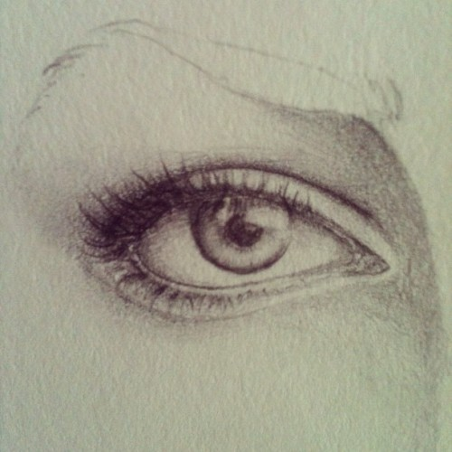 Right eye - no reference (Taken with Instagram)