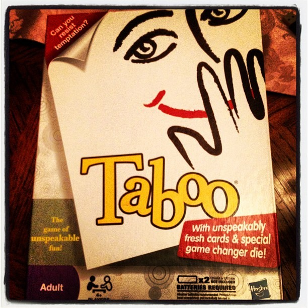 #taboo night with my fam. I see where my competitiveness from. #winning #family #saturday #game #fun  (Taken with Instagram)