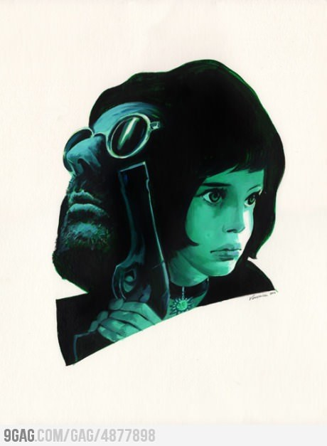 9gag:  Leon The Professional