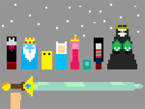 moddeang:  Hallo guys Adventure Time 8-BIT