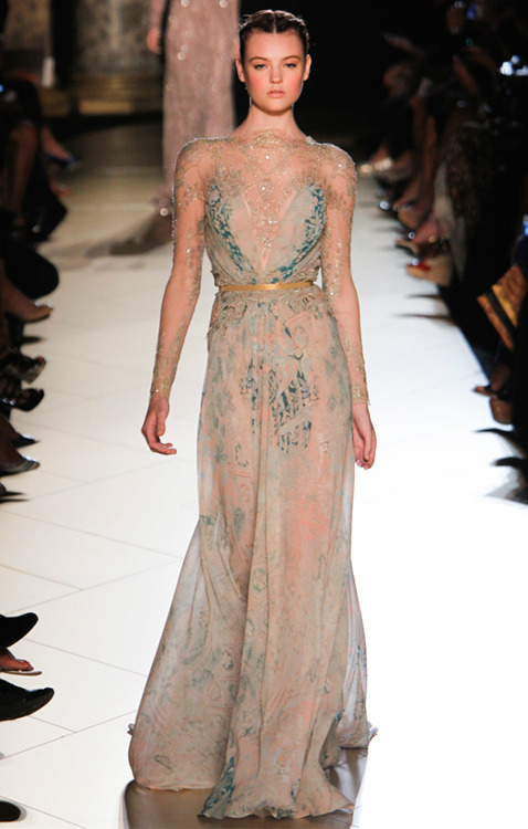 slike-:  double—entendre:  Elie Saab- Fall 2012 Haute Couture