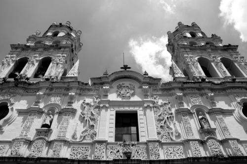 americanguero:  Cathedral in Puebla
