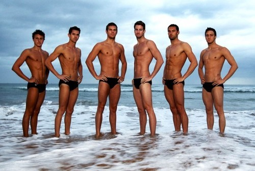 Australian Olympic Swimming Team.