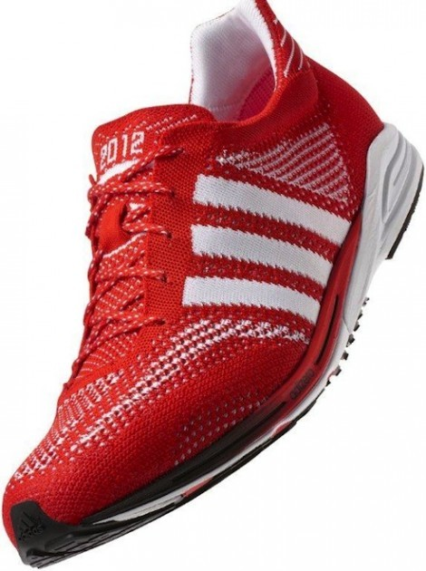 adidas adiZero Primeknit I love these knit kicks.  Just in time for the Olympics. src