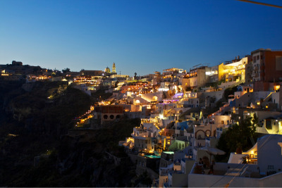 Thira @ Night…
