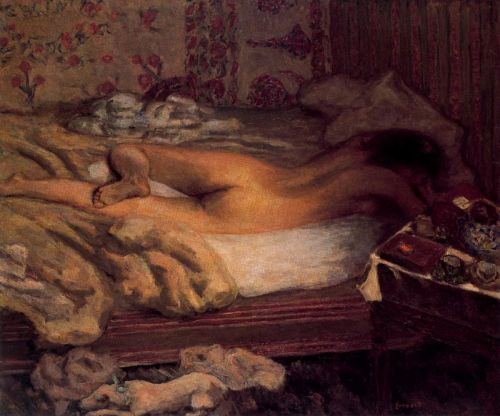 Pierre BonnardLa Sieste. 1900Oil on canvas. 109 x 132 cm. VIA MORE