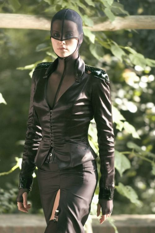 Charlize Theron In Thierry Mugler, as AEon Flux(2005).