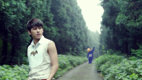 Love Story between Hoya & Tinky Winky