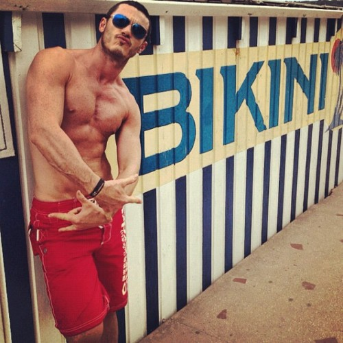 "#lukeevans #luke #evans is doing his best ""street"" impression (Taken with Instagram)"