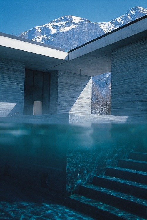 Swimming Pool / House / Mountains