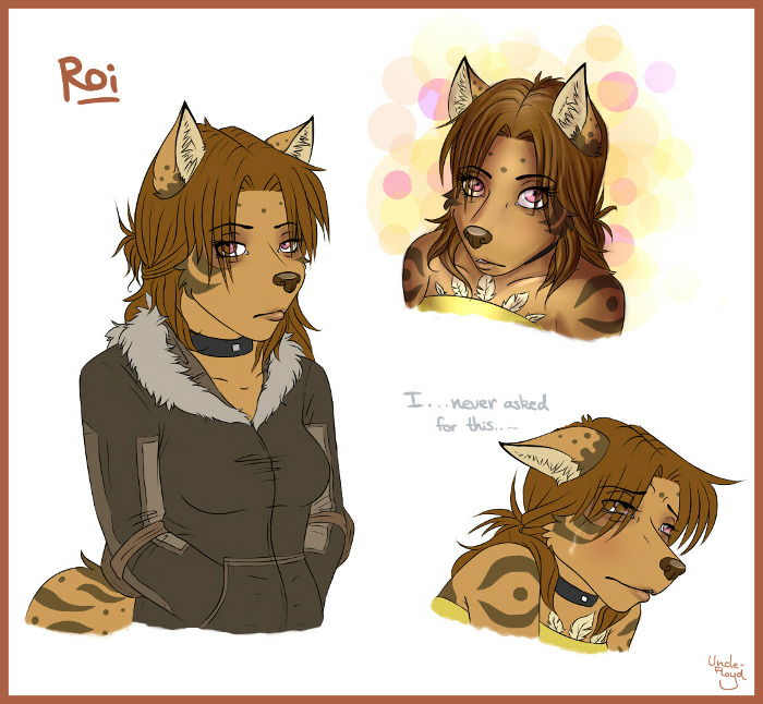 Okay I colored two other sketches from the previous sketch page of Roi now.I really hope they look good, because I'm really tired x(And I think I'm done with these bundles of sketches of one char. for a while. It's getting boring P:Plus I should be working on actual finished pictures again. Bleh.
