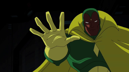 "The Avengers: Earth's Mightiest Heroes ""Behold … The Vision!"" Talkback (Spoilers)http://www.toonzone.net/forums/showthread.php?296827-The-Avengers-Earth-s-Mightiest-Heroes-quot-Behold-The-Vision!-quot-Talkback-%28Spoilers%29"