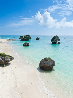 travelingcolors:  Tropical Japan's coastline, Okinawa | Japan (by ippei + janine)
