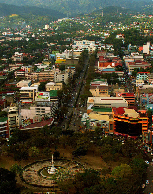 travelingcolors:  The Heart of Cebu City | Philippines (by Storm Crypt)  We can never get enough of this view.