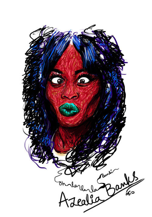 fyazealiabanks:  Rapunzel, Bambi, Mermaid - via Abid's Brush Strokes