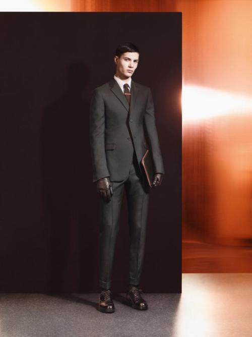 parliecharker:  Sascha Weissenborn for Z Zegna Autumn/Winter 2012