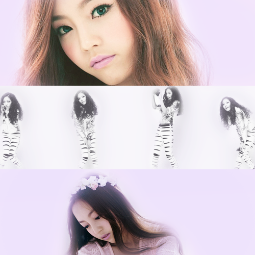 colour meme: Hara (purple) asked by hyungshik