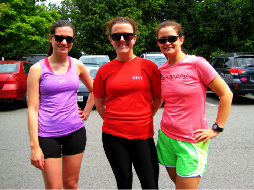 Photo from yesterday's DC Do Life Run at Burke Lake! Although, the photo was actually taken at breakfast which is equally important! :)   Thanks for the great time ladies! Can't wait till next time! :)