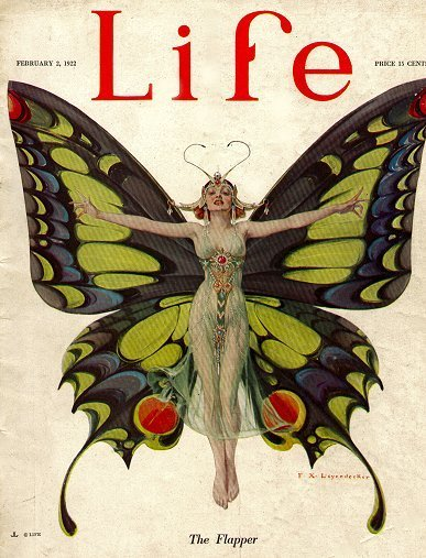 """The Flapper"", Life Magazine, 1922"
