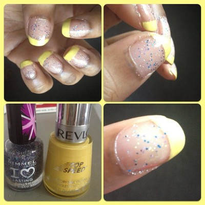 New nails💛  Princess xox