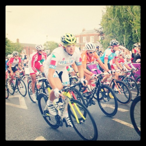 #Women's #cycling #roadrace #London2012 #Olympics at #Teddington #Richmond #London (Taken with Instagram)