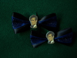 Eleventh Doctor hair clips