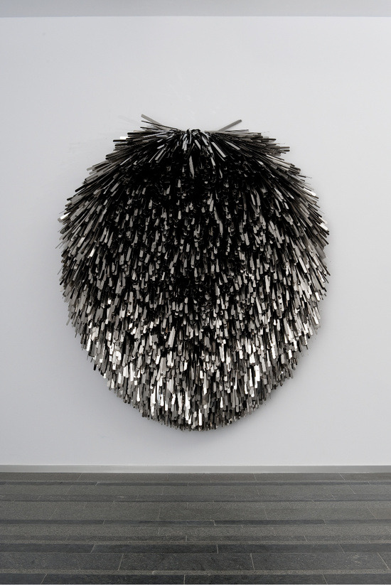 darksilenceinsuburbia:  Subodh Gupta. Faith Matters, 2010. PinchukArtCentre, Kiev, Ukraine. Photo: Sergei Illin