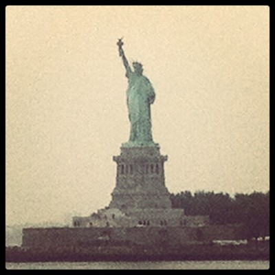 The Statue of Liberty (Taken with Instagram at Statue of Liberty Ferry)