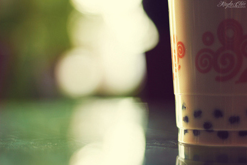 Day 18: Bubble Tea by KaylaChin on Flickr. http://bit.ly/NcPM5R