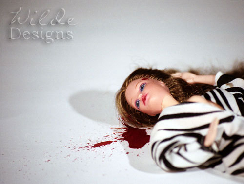 Just added a sale print of my Barbie Murders Gunshot 01 photo for just $3