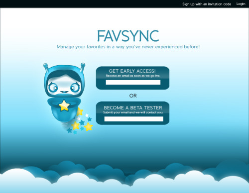 Favsync is an universal tool to manage favorites. We're trying to put everything a user will ever need for their favorites in one place and keep it simple at the same time. Sign up here